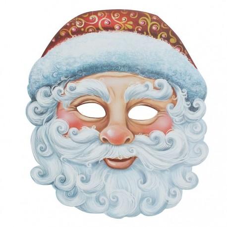 "Маска карнавальная ""Дед Мороз"", 25,9 х 29,3 см"