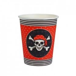"Стакан бумажный ""Пираткий"" (250 мл) 1816520"