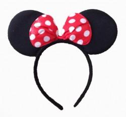 Ободок «Мышка» с бантиком