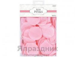 Лепестки Свадебные текстиль розов 300штА