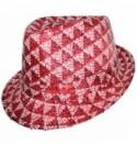 WB Шляпа Клубная красно-белая