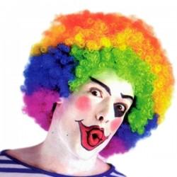 WB Парик Кудрявый разноцветный