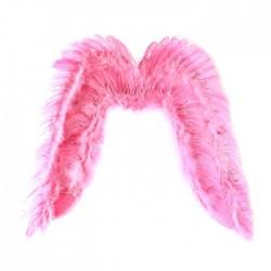 крылья ангела 57*65 розовые с блестками