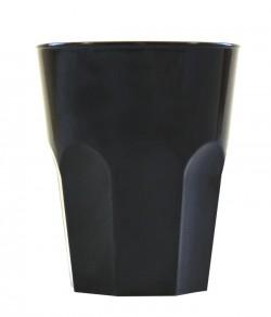 Набор стаканов Gold Plast черный 8шт