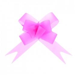 Бант-бабочка №1,8 простой светло-розовый