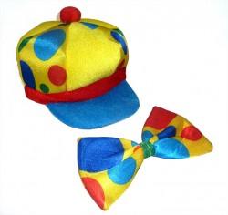 Набор Клоун: шляпа, бант