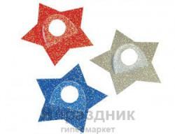 Наклейка-держатель д/шара Звезда асс/А
