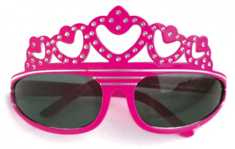 "Очки ""Корона"" розовые"