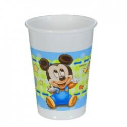 Набор стаканов Малыш Микки 8 шт