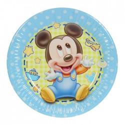 Набор тарелок Малыш Микки 20см 8шт