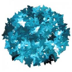 Конфетти фольгированное Синие бабочки 14гр