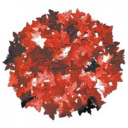 Конфетти фольгированное Красные бабочки 14гр