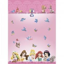 Скатерть полиэтиленовая Принцессы и животные 120х180см