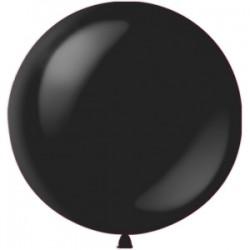 "M 36""/91см Декоратор BLACK 048 1шт шар латекс"