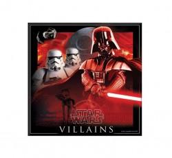 "P Салфетки 33*33 см ""Звездные войны"" / Star Wars The Force Awakens / набор 20 шт. / (Греция)"