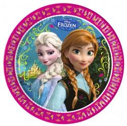"""P Тарелки 23 см """"Холодное Сердце. Альпы"""" / Frozen Alpine / набор 8 шт. / (ЕС)"""