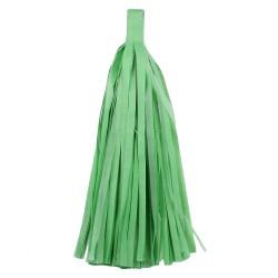 """Помпон """"Кисточка"""" 35 х 25 см 10 листов светло-зеленый"""