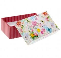 Коробка подарочная, Нежность, 4*4*3см, 1шт.