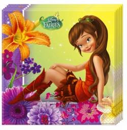 "P Салфетки 33*33 см ""Феи"" / Fairies Magic / набор 20 шт. / (ЕС)"