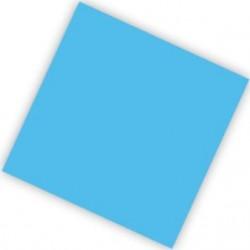 Салфетки голубые Делюкс 25см 20шт