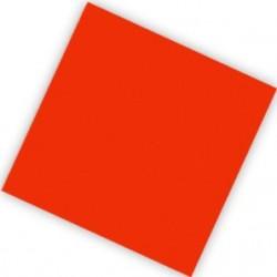 """S Салфетки 25*25 см """"Делюкс"""" Красные / набор 20 шт. / (Колумбия)"""