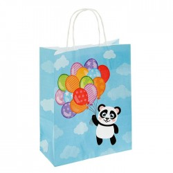 "Пакет крафт ""Панда"", 32 х 25 х 11 см"