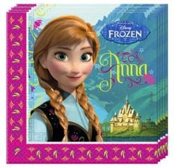"""P Салфетки 33*33 см """"Холодное Сердце. Альпы"""" Сестры / Frozen Alpine / набор 20 шт. / (ЕС)"""