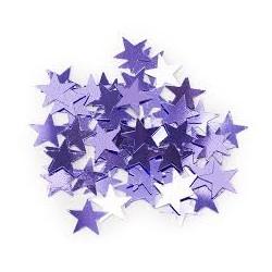 Конфетти Звезды сиреневые 17гр