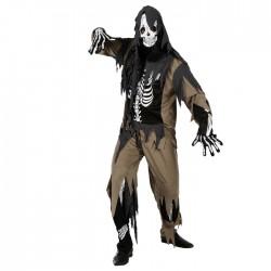 """Карнавальный костюм """"Ужастик"""", 4 предмета: рубашка, штаны, капюшон, перчатки, р-р XL (48-50)"""