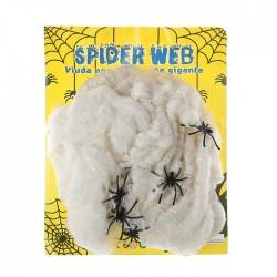 Прикол Паутина 12 пауков 60гр