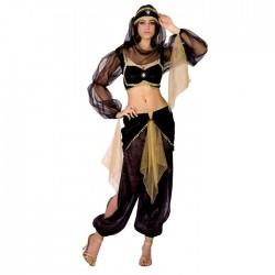 """Карнавальный костюм """"Восточная красавица"""", 4 предмета: топ, пояс, головной убор, брюки, размер M-L"""