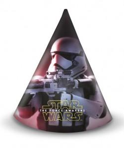 "P Колпаки ""Звездные войны"" / Star Wars The Force Awakens / набор 6 шт. / (Китай)"