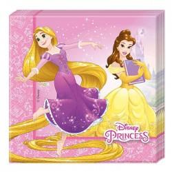 Салфетки Принцессы Дисней 33см 20шт