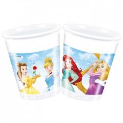 Набор стаканов Принцессы Дисней 8 шт