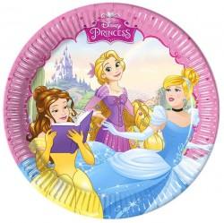 "P Тарелки 20 см ""Принцессы"" / Princess Dreaming / набор 8 шт. / (Греция)"
