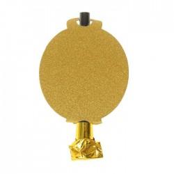 Язычок - кругляш, набор 6 штук, цвет золото