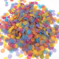 Конфетти Круги Разноцветные бумага 7гр