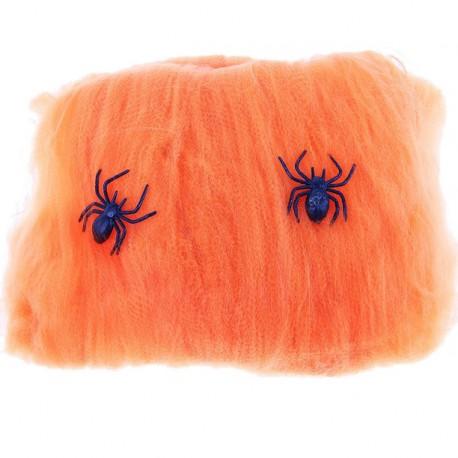 прикол оранжевая паутина 2 паука 16*20 327759