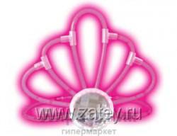 Светящ Тиара розовая