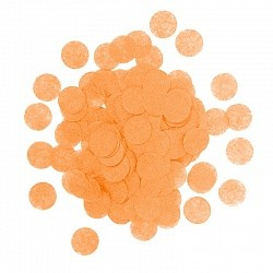 Конфетти Круги, Оранжевый, бумага, 7гр.