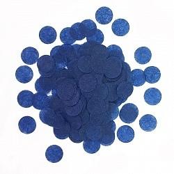 Конфетти Круги, Синий, бумага, 7гр.