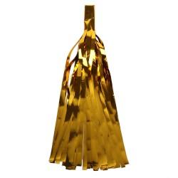 "Помпон ""Кисточка"" 35 х 12,5 см 10 листов фольга золото"