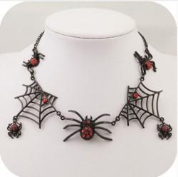 """Ожерелье """"Хеллоуин"""" (пауки)"""