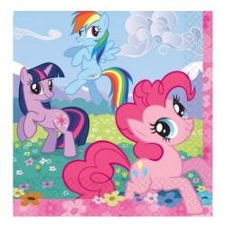 Салфетка Му Little Pony 33см 16шт