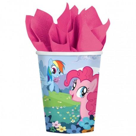 Стакан Му Little Pony 250мл 8шт/A