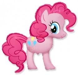 Шар Пони Розовая 110см