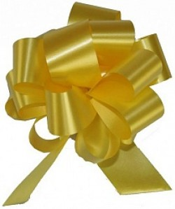 Бант Шар Пастель Желтый (3,2''/8 см),
