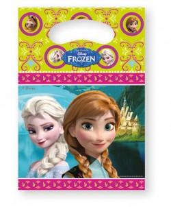 """P Пакеты подарочные """"Холодное Сердце. Альпы"""" / Frozen Alpine / 17*23 см / набор 6 шт. / (Китай)"""