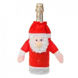 "Прикол одежда на бутылку ""Дед мороз"""