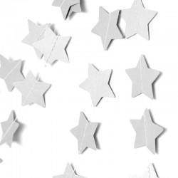 Подвеска Звезды, Белый металлик, 230см